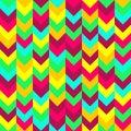 Chevron zigzag pattern seamless vector arrows geometric Royalty Free Stock Photo