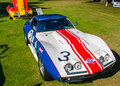 Chevy corvette sunray dx plymouth mi usa july a rebel racer car on display at the concours d elegance of america Royalty Free Stock Photos