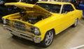 Chevy nova super sport antique automobile chevy nova super sport antique automobile bright yellow chevrolet classic american Stock Photography