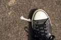 Chewing Gum and Shoe Royalty Free Stock Photo