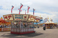 Cheyenne Frontier Days Midway Royalty Free Stock Photo