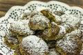 Chia cookies Zdjęcia Stock