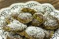 Chia cookies Zdjęcie Stock