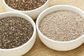 Chia seed variety Stock Photography