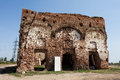 Chiajna ruins the of the orthodox church near bucharest Royalty Free Stock Images
