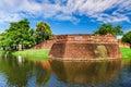 Chiang Mai Old City Wall Royalty Free Stock Photo