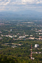 Chiang mai Province Mountain city view Stock Photography