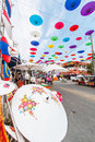 CHIANG MAI, THAILAND-JANUARY 19 : 31th anniversary Bosang umbrella Stock Images