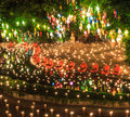 Chiang mai thailand november loy krathong festival at wat pan tao in province of Stock Image