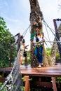 Tree Top Walk in Mae Fah Luang Garden Royalty Free Stock Photo