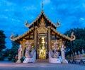 Wat Inthakhin Sadue Muang in Morning Light