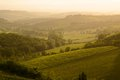 Chiantishire chianti vineyard landscape in tuscany italy Stock Photo