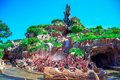 CHIBA, JAPAN: Splash Mountain attraction in Critter Country, Tokyo Disneyland Royalty Free Stock Photo