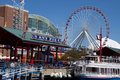 Chicaco Navy Pier Stock Photo