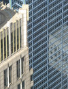 Chicago architecture closeup Royalty Free Stock Photo