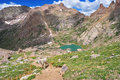 Chicago basin colorado rockies usa Royalty Free Stock Photos