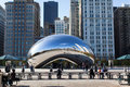 Chicago bean Royalty Free Stock Image