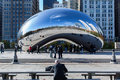 Chicago bean Royalty Free Stock Photography