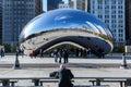 Chicago bean Royalty Free Stock Photo