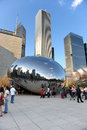 Chicago Bean in Millennium Park Stock Photography