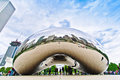 Chicago bean in millennium park Royalty Free Stock Photography