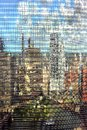 Chicago buildings reflection Royalty Free Stock Photo