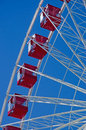 Chicago: cabins of Ferris Wheel at Navy Pier on September 22, 2014 Royalty Free Stock Photo