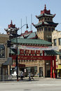 Chicago chinatown Royaltyfria Bilder