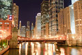 Chicago downtown Stock Image