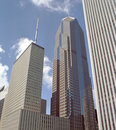 Chicago Downtown Buildings Royalty Free Stock Photo