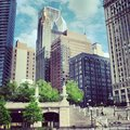 Chicago downtown view of the Royalty Free Stock Photo