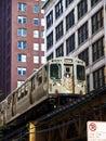 The Chicago EL train Stock Photos