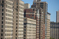 Chicago High Rise Apartment Buildings Royalty Free Stock Photo