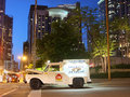 Chicago ice cream truck good humor Stock Image
