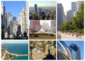 Chicago,Illinois collection Stock Image
