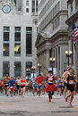 Chicago Marathon Royalty Free Stock Photography