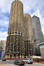 Chicago Marina City twins Towers Royalty Free Stock Photo