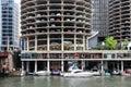 Chicago Marina Towers Royalty Free Stock Photo