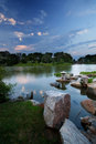 Chicago's - Japanese Gardens Royalty Free Stock Photo
