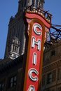 Chicago Sign Stock Photography