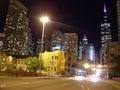 Chicago Skylane Royalty Free Stock Photo