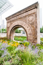 Chicago Stock Exchange Entrance arch. Royalty Free Stock Photo