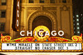 Chicago-Theater. Lizenzfreie Stockfotos