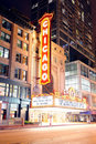 Chicago theatre Royaltyfri Fotografi