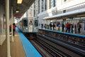 Chicago Transit Authority Royalty Free Stock Photo