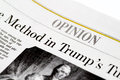 Chicago USA-Feb 12 2017:The Wall Street Journal Newspaper,Opinion Section (for editorial use only)