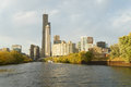 Chicago, view from river Royalty Free Stock Photo