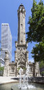 Chicago Water Tower Stock Photography
