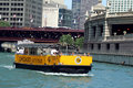 Chicago Watertaxi Royalty Free Stock Images