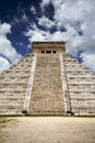 Chichen itza ancient mayan capital ruins of in mexico Royalty Free Stock Photos